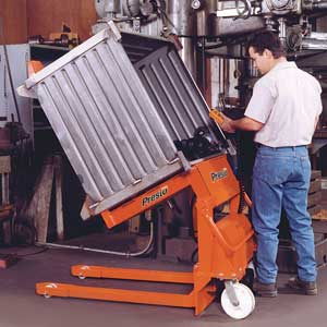 Part Sorting Portable Tilter